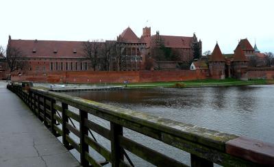 マルボルク城とタンネンベルクの戦い、『北の十字軍 「ヨーロッパ」の北方拡大』 山内進 著 を読む / グダニスク近郊 ガイド 2 マルボルク