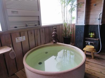南房総ゆったり温泉宿ステイ(2)美味しい温泉夢みさきの露天風呂付客室