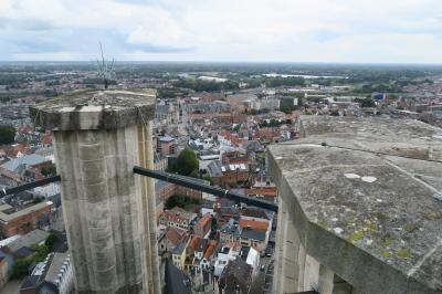 メッヘレンの絶景スポット「聖ロンバウツの塔」に登った!