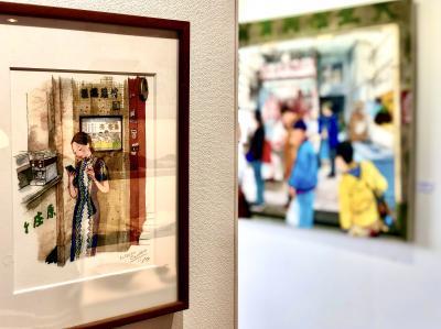 「やっぱり香港が大好き!」小野寺光子さんイラスト展を見に山口県宇部市へ!&北九州市小倉でステイケーション!