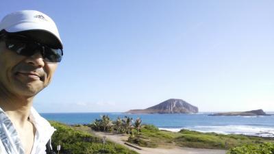 令和元年 お父ちゃん一人旅inHAWAII「ココヘッドに登りました」(4日目Vol.1 グレイシーズイン→マカプウトレイル)