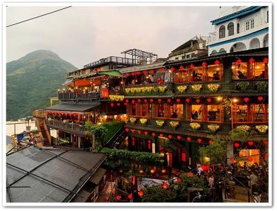 台湾に行きたいわん、小籠包食べたいわん、九分見たいわん、色々買い…