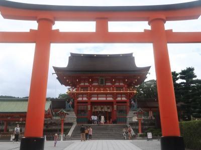 九州(大分)から北海道までマイカーの旅 8-2 京都 編