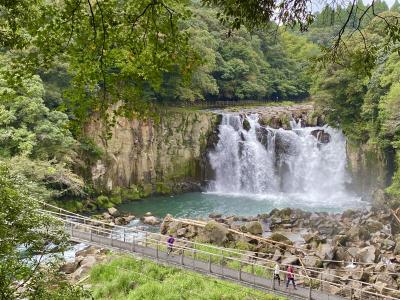 関之尾滝の遊歩道を歩いてみた