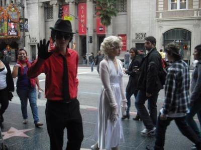 ロサンゼルスで偽物のハリウッドスターと会う