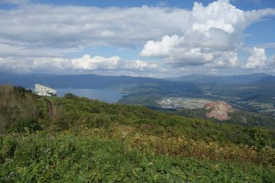 シルバーウイークは2連休で札幌へ<中編>洞爺湖、有珠山ロープウェイ、昭和新山、レイクヒルファーム