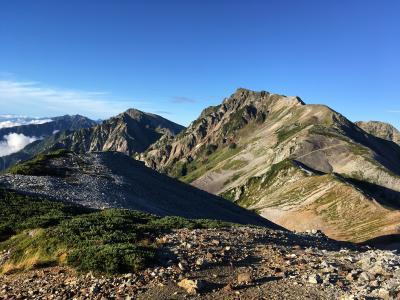 2020秋 1泊2日テント泊で行く白馬岳~奇跡の天候回復!秋晴れの稜線歩き~
