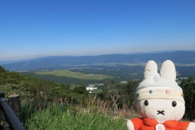 グーちゃん、えびの高原へ行く!(名月を持って、トレッキングへ行こう!編)