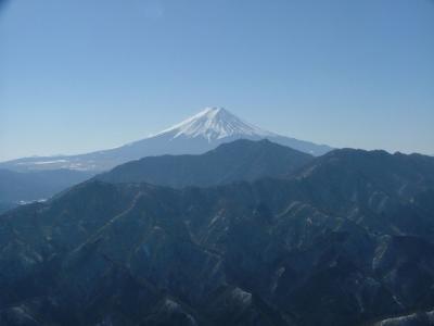 大月秀麗富嶽十二景4番-滝子山登山