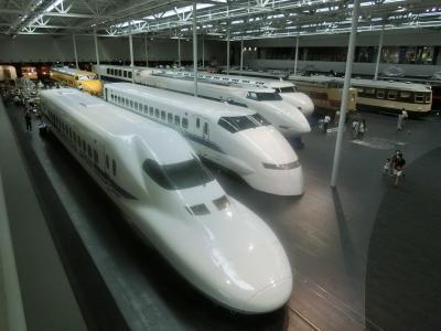 2020夏 関西観光列車乗り鉄の旅 ① 出発-リニア鉄道博物館