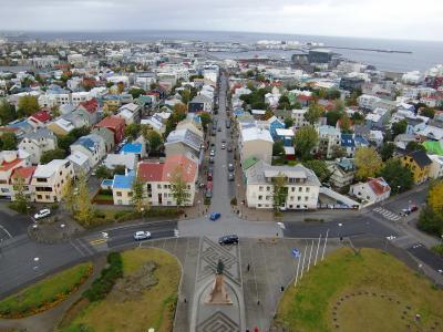 もっと寒いアイスランドDay1-2 首都レイキャビク街歩き
