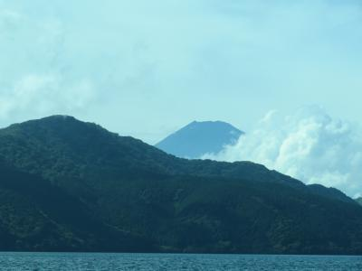 心の安らぎ旅行 2020年9月 箱根旅行 Part14 芦ノ湖から富士山が見えた♪2日目☆
