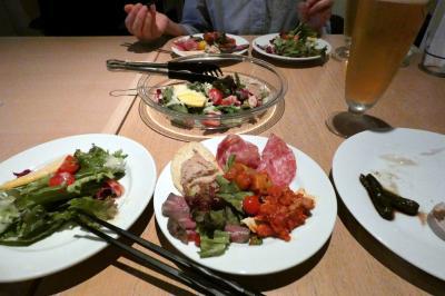 ダイニングバー ストラーダの夕食