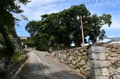 松阪はお城跡と宣長先生の旧居跡
