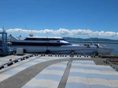 オーシャンアロー(283系ではありません)で行く熊本・島原・天草ループ