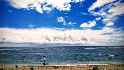 20年9月 台湾中止からのプールとシュノーケル@沖縄