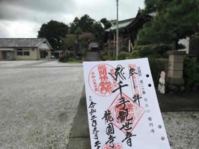 池袋から歩いて飯能を目指します~武蔵野三十三観音徒歩巡礼その5~
