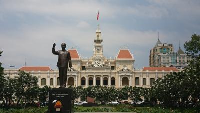大学生のベトナム・香港旅行  2日目(ホーチミン①)  主要スポットの観光