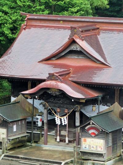 いわき-5 湯本温泉 古滝屋 伽羅の間-モダン和室 雅の膳 ☆温泉神社が見える7階で