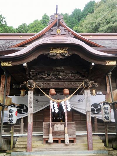 いわき-6 湯本温泉 温泉神社 さはこの湯 鶴のあし湯広場 ☆古滝屋周辺 朝の散歩で