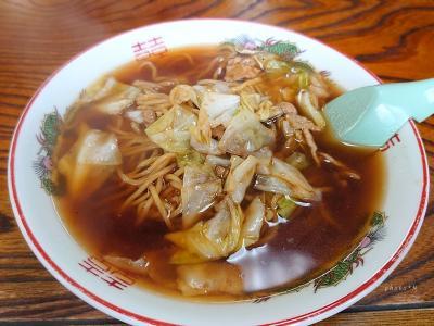 栃木の旅〈4〉番外編?塩原温泉で思い出のスープ入り焼きそばを食す