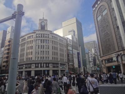 都バスの旅ー13 銀座プレイス【ソニープラザ】に行く 井96・東15系統
