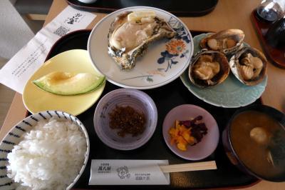 GoTo会員制リゾート7連泊 恋路ヶ浜 萬八屋(まんぱちや)の昼食