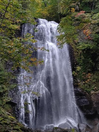 初秋の裏磐梯:デコ平湿原と小野川不動滝の巻