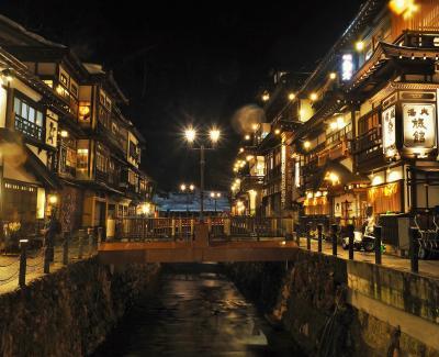 **雪が無いなんて~!!冬の銀山温泉と最上川舟下り**
