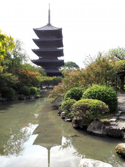 いまだからこそ、大師にここで護摩祈祷をしてほしい、東寺に