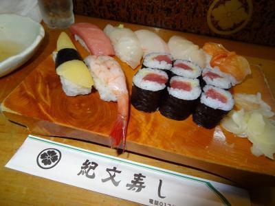 北海道&東日本フリーパスで乗りまくり6泊7日・その3.青森で寿司を堪能し、新幹線で北海道へ。
