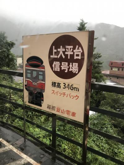 2か月ぶりの箱根 1
