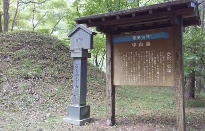 19-旧中山道 和田峠口~和田宿~ふれあいの湯(9/9 8km 21000歩 )