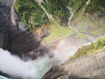 週末富山旅行*黒部峡谷と黒部ダム