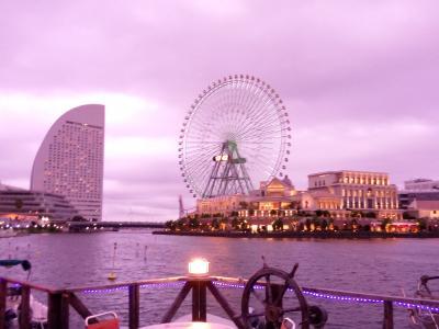 海上BBQでみなとみらいビュー満喫 &Banksy展 in 横浜