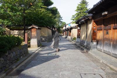 金沢に娘と女子旅、武家屋敷跡、スイーツ巡り。小松空港へ