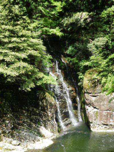 三段峡/プロローグ「姉妹滝」「竜の口」「赤滝」など◆2018年GW・広島の滝めぐり《その2》