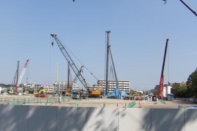 ブリジストン工場跡地に物流施設の建設