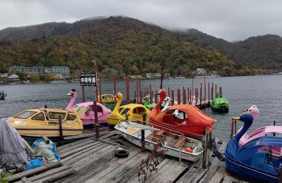 中禅寺湖でのんびり秋旅3:遊覧船で中禅寺湖巡り