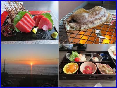 南房総ゆったり温泉宿ステイ(4)夢みさき・遊食クラブでのディナーとモーニング
