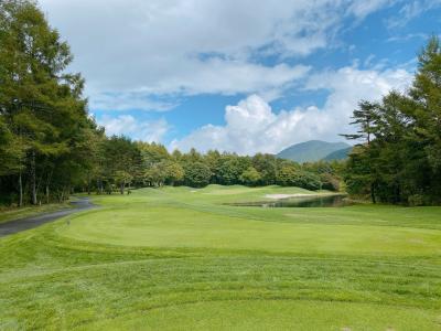 軽井沢でゴルフリゾート