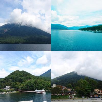 中禅寺湖リベンジ遊覧をかまして東武特急スペーシアで浅草経由で帰りました。
