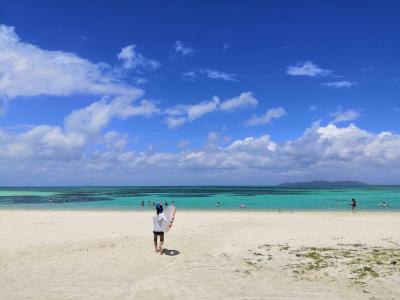 遅い夏休み、石垣島へ(2日目:竹富島。ゆっくり出発して、のんびり一日を過ごしました)