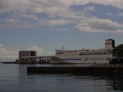 新日本海フェリー「あざれあ」寄港地市民割引で小樽から新潟へ戻る