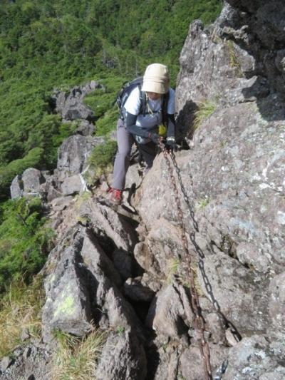 北八ヶ岳の北横岳と三ツ岳に登りました
