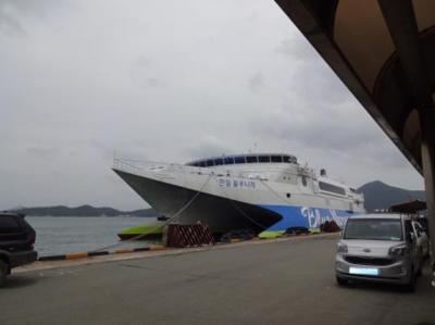 2016韓国半周バスの旅 全羅南道 莞島~済州島