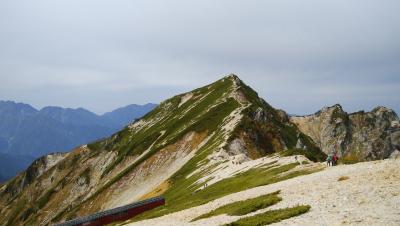 八方尾根に唐松岳を折り返しの日帰りトレッキング
