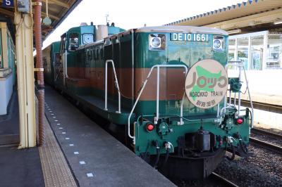 HOKKAIDO LOVE! 6日間周遊パスで行く入場券集めの旅(6日目:ノロッコ号とロイヤルエクスプレス) 【鉄道旅行】
