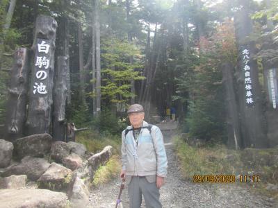 秋の蓼科・北八ケ岳登山