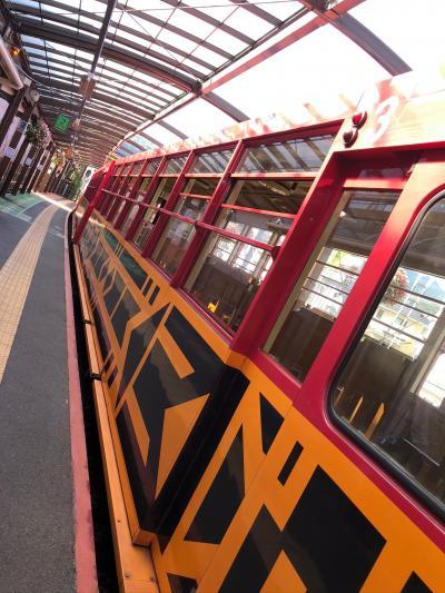嵐山爽やか旅行!…トロッコ列車でいい風感じる…ひとり旅編!